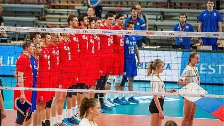 Сборная России по волейболу. Фото Официальный Инстаграм Всероссийской Федерации волейбола.