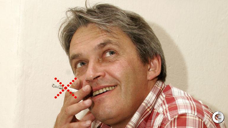 """Под влиянием спорта навсегда покончено с вредной привычкой табакокурения. Фото Федор УСПЕНСКИЙ, """"СЭ"""""""