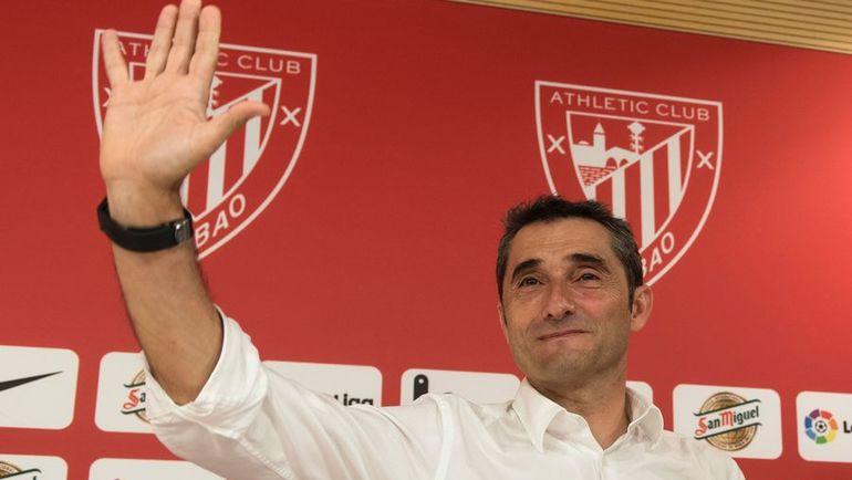 """Эрнесто ВАЛЬВЕРДЕ - новый главный тренер """"Барселоны"""". Фото AFP"""