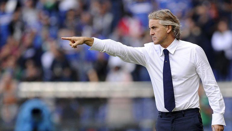 Тренер Роберто Манчини подписалcя на«Зенит» в Инстаграм