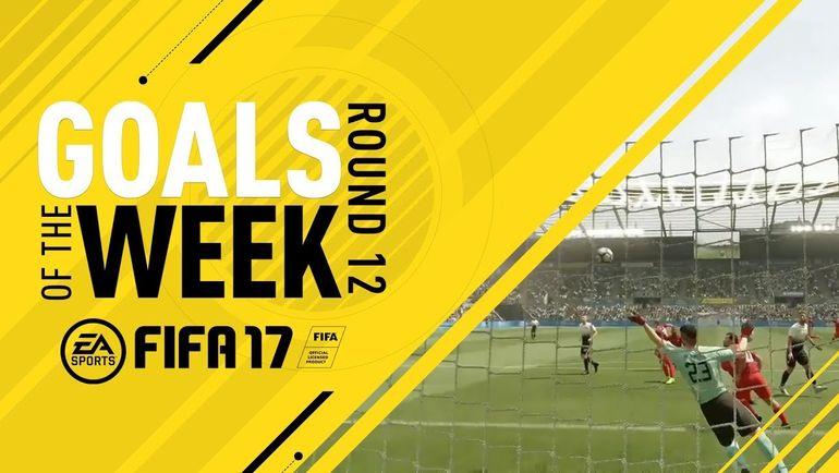 Лучшие голы недели FIFA 17. Фото EA Sports