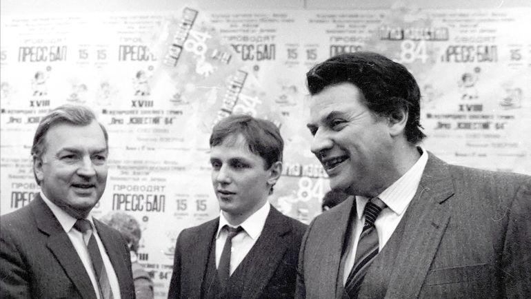 Михаил ДЕРЖАВИН, Игорь ЛАРИОНОВ  и Александр ШИРВИНДТ (слева направо). Фото Игорь УТКИН