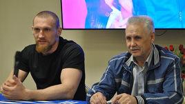 Дмитрий КУДРЯШОВ (слева) и его тренер Николай ТИМОФЕЕВ.