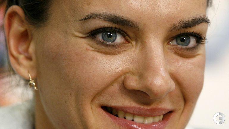 28 августа 2009 года. Цюрих. Елена ИСИНБАЕВА. Фото REUTERS