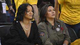 Рианна и другие звезды финала НБА