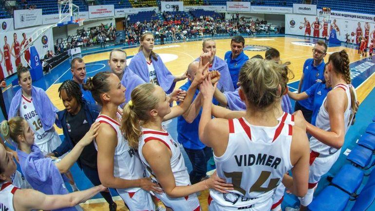 Россиянки во второй раз переиграли своего соперника. Фото Официальный Твиттер РФБ