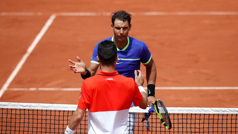 Рафаэль НАДАЛЬ продолжает борьбу на Roland Garros. Фото REUTERS