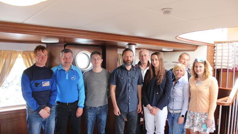 В Яхт-клубе Санкт-Петербурга прошла конференция парусных центров Северо-Запада.
