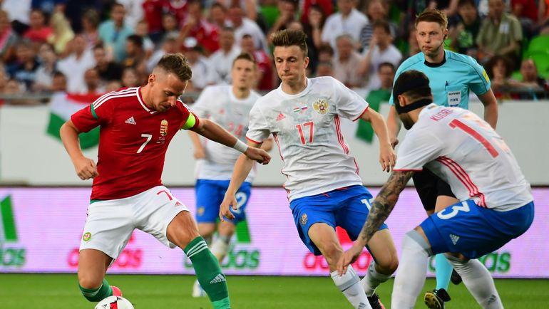 Россия разгромила в контрольном матче Венгрию (Видео)