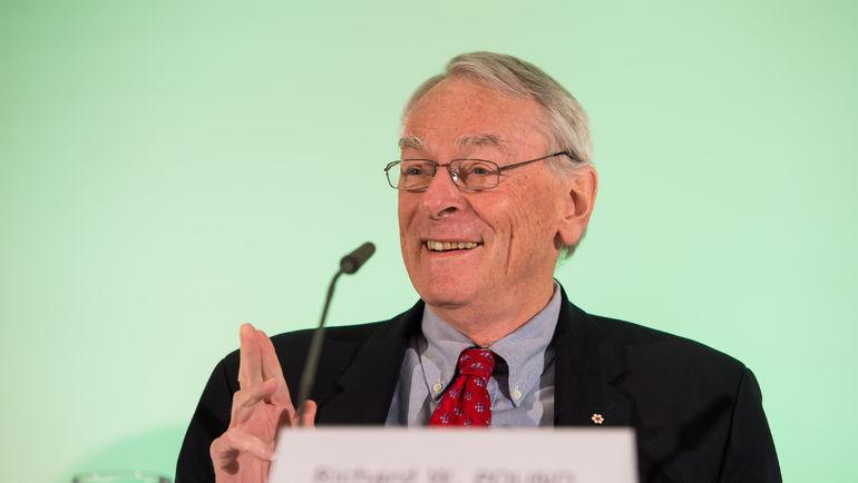 Бывший руководитель Всемирного антидопингового агентства (ВАДА) Ричард ПАУНД. Фото AFP