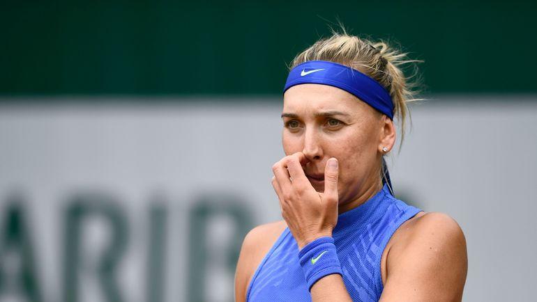 Елена ВЕСНИНА и Екатерина МАКАРОВА завершили борьбу на Roland Garros. Фото AFP