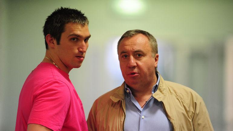 Советник Андрея САФРОНОВА (справа) Александр ОВЕЧКИН. Фото Антон СЕРГИЕНКО