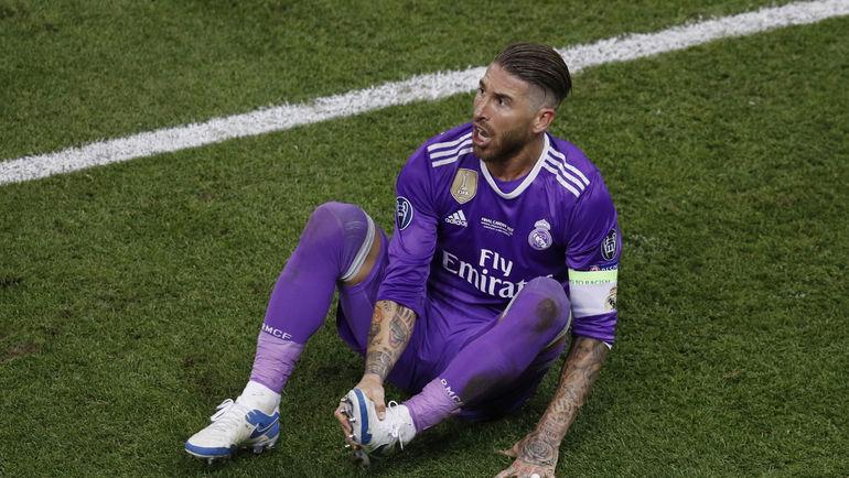 Главный грубиян мирового футбола Серхио РАМОС. Фото AFP