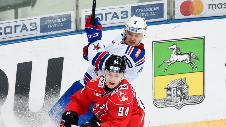 Кирилл СЕМЕНОВ (№94). Фото Владимир БЕЗЗУБОВ, photo.khl.ru
