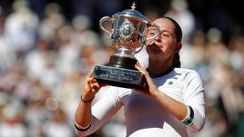 Остапенко - победительница Roland Garros