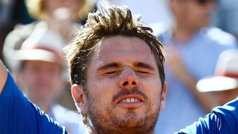 """Стэн ВАВРИНКА еще никогда не проигрывал в финалах """"Шлемов"""". Фото AFP"""