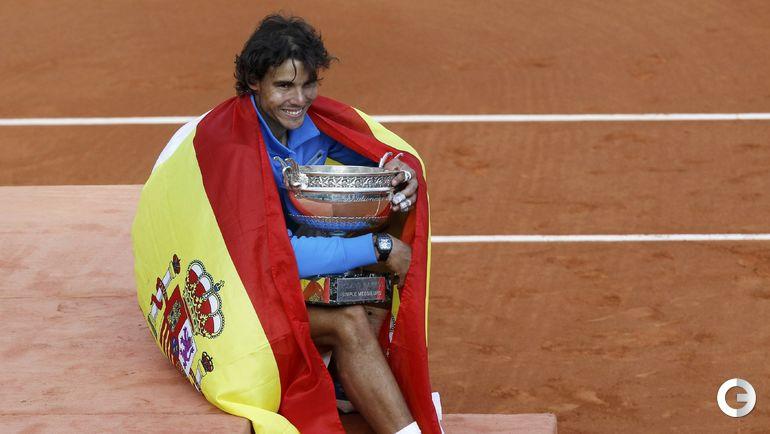Рафаэль НАДАЛЬ - победитель Roland Garros-2011. Фото REUTERS