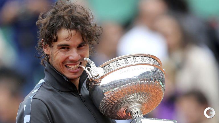 Рафаэль НАДАЛЬ - победитель Roland Garros-2012. Фото REUTERS