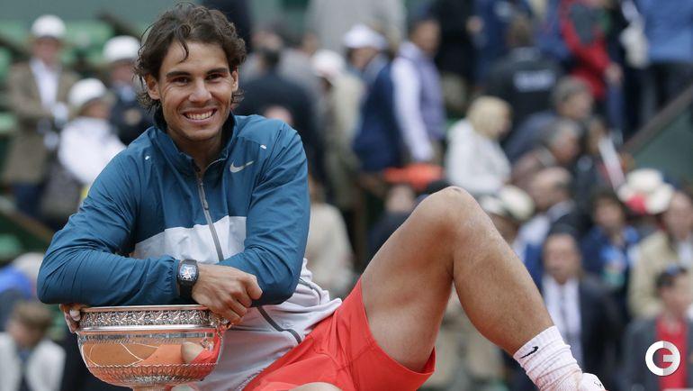 Рафаэль НАДАЛЬ - победитель Roland Garros-2013. Фото AFP