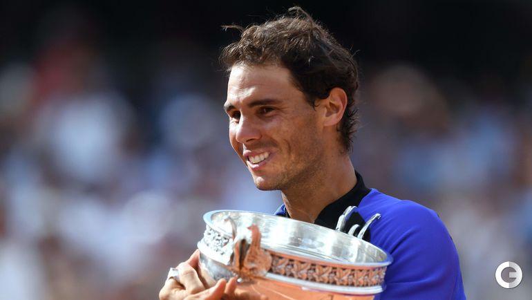 Сегодня. Париж. Рафаэль НАДАЛЬ - победитель Roland Garros-2017. Фото AFP