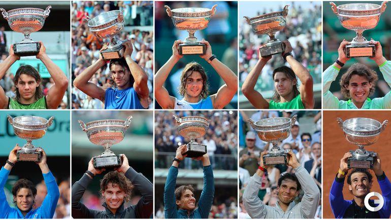 Рафаэль НАДАЛЬ - десятикратный победитель Roland Garros.