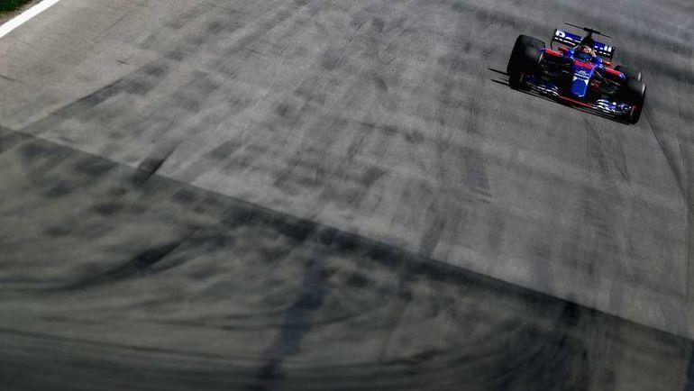 """Сегодня. Монреаль. """"Торо Россо"""" Даниила КВЯТА. Фото AFP"""