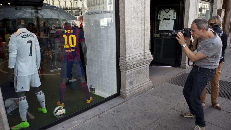 Футболки этих игроков есть у каждого уважающего себя болельщика. Фото AFP