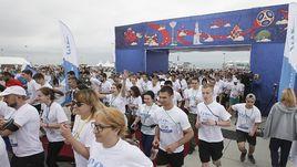 Около двух тысяч человек из 32 регионов России приняли участие в забеге Platov Runway