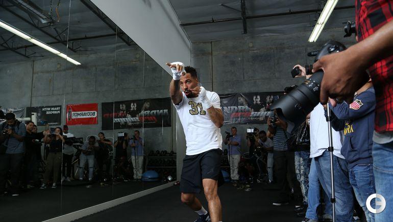 2 июня. Хейворд. Андре УОРД на тренировке. Фото AFP