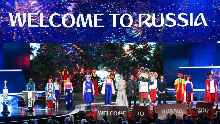 Россия принимает гостей. Фото AFP