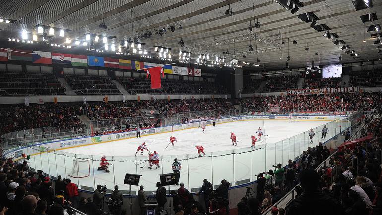 """Хоккейный стадион в Сокольниках. Фото Федор УСПЕНСКИЙ, """"СЭ"""""""