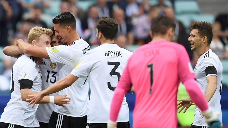 Германия обыграла Австралию на Кубке конфедераций (Видео)