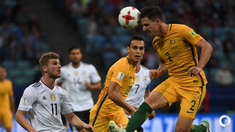 Сегодня. Сочи. Австралия - Германия - 2:3. Фото AFP