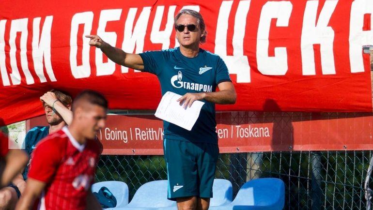 «Зенит» потерпел минимальное поражение от«ЦСКА Софии»