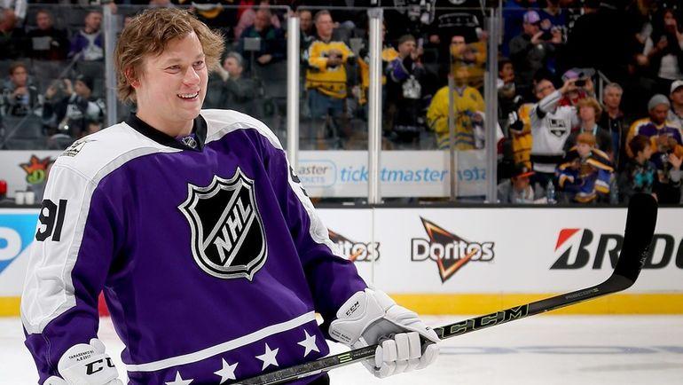 29 января 2017 года. Владимир ТАРАСЕНКО во время Матча звезд НХЛ. Фото AFP