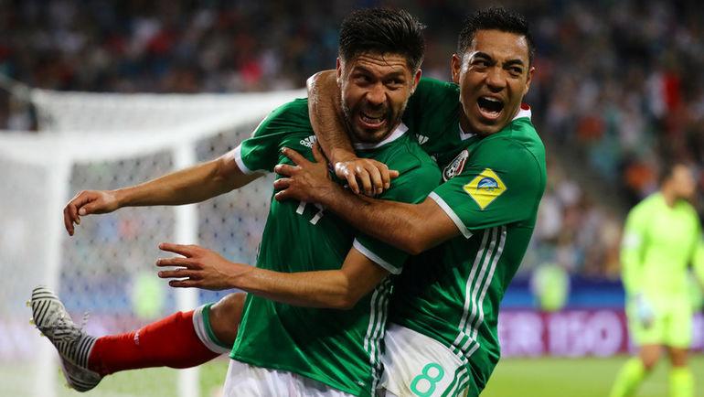 Мексика вырвала победу у Новой Зеландии на Кубке конфедераций (Видео)