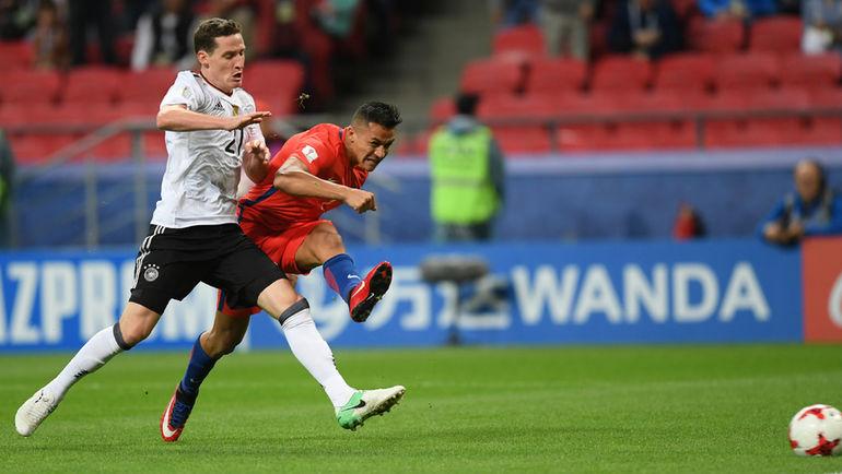 Сборные Германии иЧили сыграли вничью вматче Кубка конфедераций