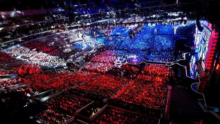 Чемпионат мира по League of Legends. Фото Riot