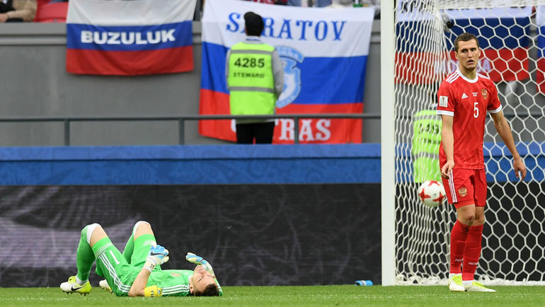 Россия проиграла Мексике и не вышла в плей-офф Кубка конфедераций (Видео)