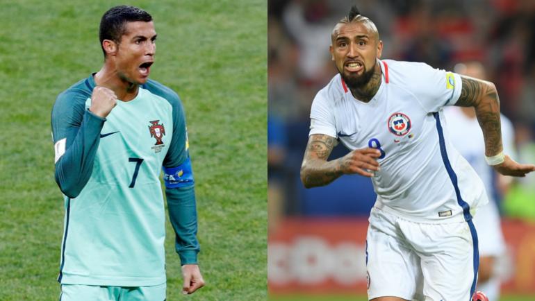 Футболисты сборной Чили старались играть спокойно савстралийцами наКК-2017— Видаль