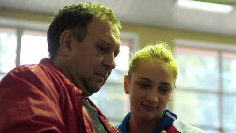 """Геннадий ЕЛФИМОВ и Виктория КОМОВА. Фото Никита УСПЕНСКИЙ, """"СЭ"""""""