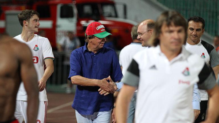 Юрий СЕМИН (в центре) и Илья ГЕРКУС. Фото Виталий ТИМКИВ