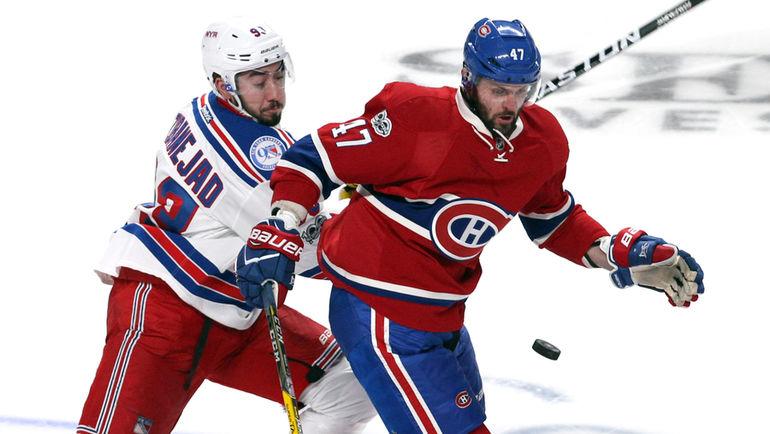 Александр РАДУЛОВ (справа) ярко провел первый сезон после возвращения в НХЛ. Фото USA TODAY Sports