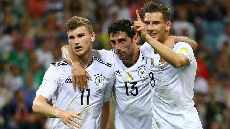 Германия разгромила Мексику и вышла в финал Кубка конфедераций (Видео)