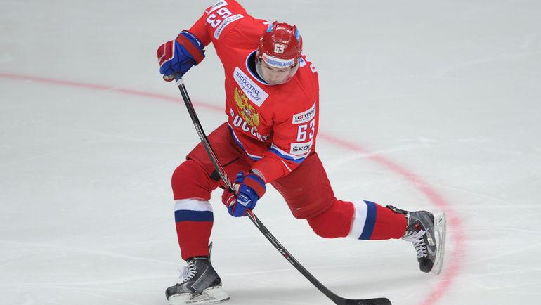 Хоккеист сборной Российской Федерации Дадонов подписал договор склубом НХЛ