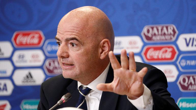 Нам обещали проблемы: президент ФИФА подвел результаты Кубка конфедераций в РФ
