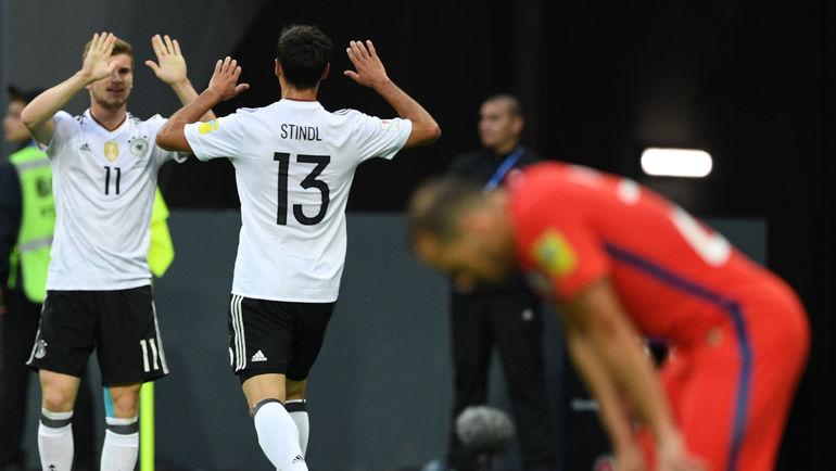 Германия победила Чили в финале Кубка конфедераций (Видео)