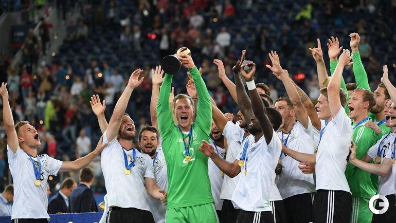 Воскресенье. Санкт-Петербург. Чили - Германия - 0:1. Германия - №1.