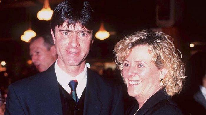 Йоахим ЛЕВ со своей женой 20 лет назад. Фото DFB