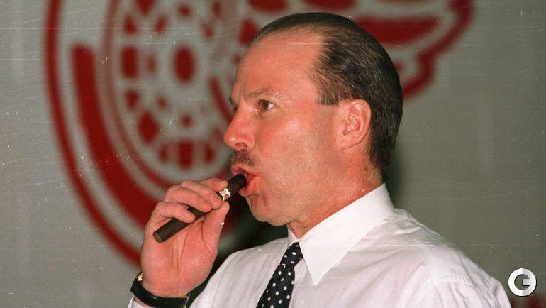 "1998 год. Детройт. Майк КИНЭН с сигарой. Фото Александр ВИЛЬФ, ""СЭ"""